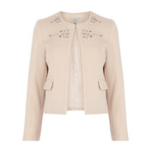 Buy Coast Jools Jacket, Natural Online at johnlewis.com