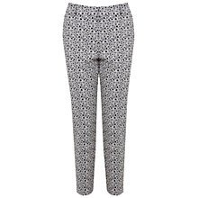 Buy Miss Selfridge Daisy Print Trousers, Multi Online at johnlewis.com