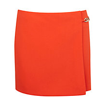 Buy Miss Selfridge Chain Trim Skort, Red Online at johnlewis.com