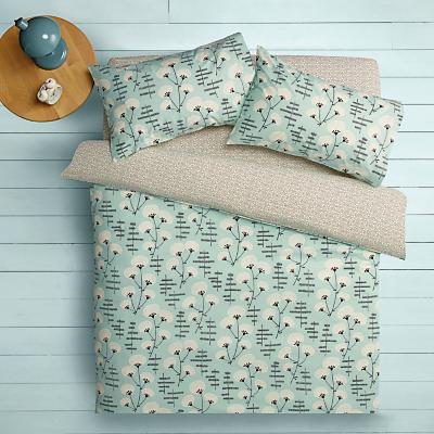 MissPrint Home Denver Blossom Duvet Cover and Pillowcase Set, Plains