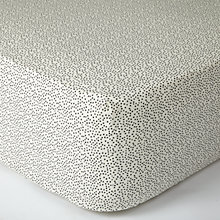 Buy MissPrint Home Dots Fitted Sheet Online at johnlewis.com