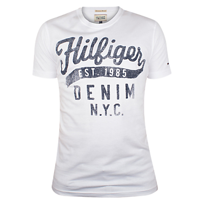 Image of Hilfiger Denim Tommy Printed T-Shirt