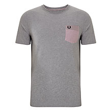 Buy Fred Perry Woven Patch Pocket T-Shirt Online at johnlewis.com