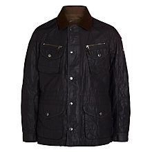 Buy Hackett London Sheringham Field Jacket, Chocolate Online at johnlewis.com