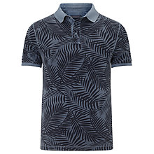 Buy Tommy Hilfiger Adrien Slim Fit Polo Shirt, Vintage Indigo Online at johnlewis.com