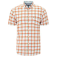 Buy Tommy Hilfiger Owen Check Shirt, Orangeade Online at johnlewis.com