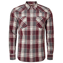 Buy Levi's Barstow Large Check Western Plaid Shirt Online at johnlewis.com