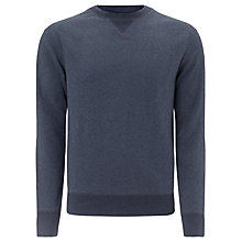 Buy Tommy Hilfiger Brian Crew Neck Sweatshirt, Black Iris Heather Online at johnlewis.com