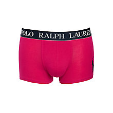 Buy Polo Ralph Lauren Classic Trunks, Bright Pink Online at johnlewis.com