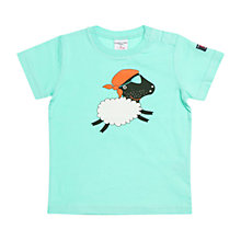 Buy Polarn O. Pyret Baby Motif T-Shirt, Blue Online at johnlewis.com