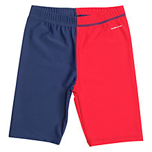 Buy Polarn O. Pyret Children's UV Sun Safe Swimshorts, Navy Online at johnlewis.com