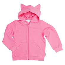 Buy Polarn O. Pyret Children's Hoodie, Pink Online at johnlewis.com