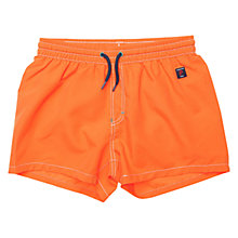 Buy Polarn O. Pyret Children's Orange Swimshorts, Orange Online at johnlewis.com