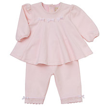 Buy Emile et Rose Flamingo Bow Top And Bottom Set, Pink Online at johnlewis.com