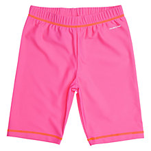 Buy Polarn O. Pyret Children's UPF50 Swimshorts, Pink Online at johnlewis.com