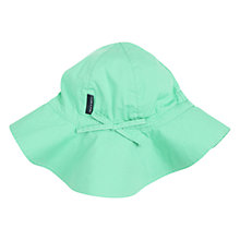 Buy Polarn O. Pyret Children's Sunhat, Green Online at johnlewis.com