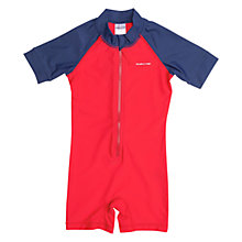 Buy Polarn O. Pyret Children's UV Sun Safe Swimsuit, Navy Online at johnlewis.com