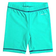 Buy Polarn O. Pyret Children's UV Sun Safe Swimshorts, Green Online at johnlewis.com
