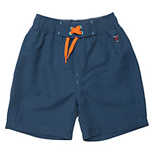 Buy Polarn O. Pyret Children's Plain Swim Shorts, Blue Online at johnlewis.com