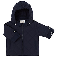 Buy Emile et Rose Baby Forrester Quilt Jacket, Blue Online at johnlewis.com