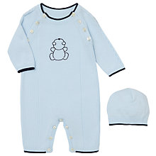 Buy Emile et Rose Baby Finch Knit All-in-One and Hat Set Online at johnlewis.com