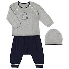 Buy Emile et Rose Baby Fletcher Knit Top, Trousers and Hat Set Online at johnlewis.com