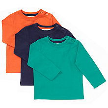 Buy John Lewis Baby Sweaters, Pack of 3, Multi Online at johnlewis.com