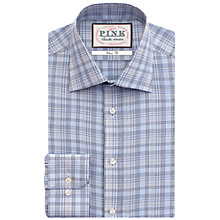 Buy Thomas Pink Stregon Classic Fit XL Sleeve Check Shirt, Blue Online at johnlewis.com