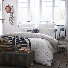 Buy Seasalt Embroidered Anchor Bedding Online at johnlewis.com
