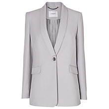 Buy L.K. Bennett Pedro Tailored Blazer, Grey Mist Online at johnlewis.com
