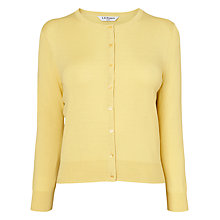 Buy L.K. Bennett Bibi Classic Silk Cotton Cardigan Online at johnlewis.com