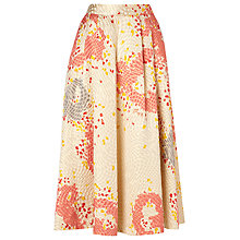 Buy L.K. Bennett Gardo Printed Skirt, Multi Online at johnlewis.com