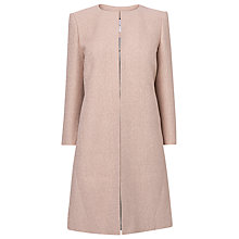 Buy L.K. Bennett Amola Event Coat, Dusty Pink Online at johnlewis.com