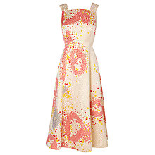 Buy L.K. Bennett Gardo Midi Skater Dress, Multi Online at johnlewis.com