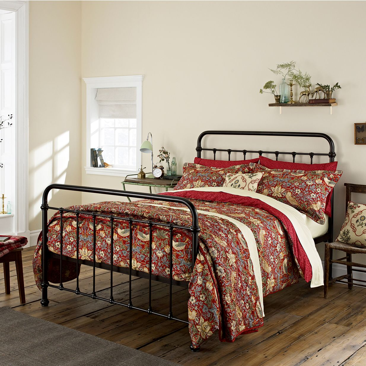 Morris & Co Morris & Co Strawberry Thief Bedding