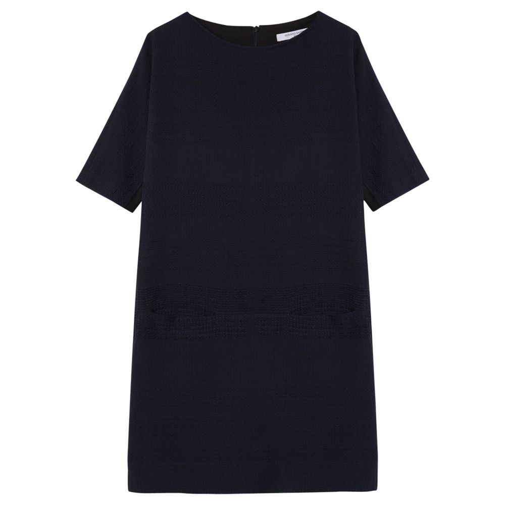 gerard darel abri dress blue, gerard, darel, abri, dress, blue, gerard darel, 10|16|18|8|14|12, edition magazine, blue day, women, womens dresses, 1879783