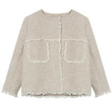 Buy Gerard Darel Avril Jacket, Beige Online at johnlewis.com