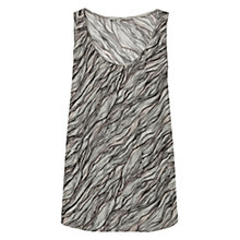 Buy Gerard Darel Adresse Silk Top, Ecru Online at johnlewis.com