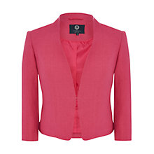 Buy Viyella Petite Linen Jacket, Bubblegum Online at johnlewis.com