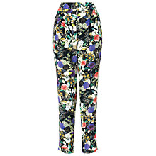 Buy Phase Eight Acacia Print Trousers, Multi Online at johnlewis.com