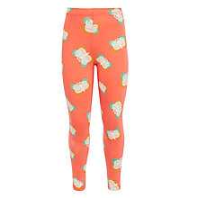 Buy Donna Wilson for John Lewis Butterfly Print Leggings, Coral Online at johnlewis.com