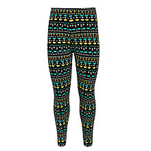 Buy Donna Wilson for John Lewis Geo Print Leggings, Black/Multi Online at johnlewis.com