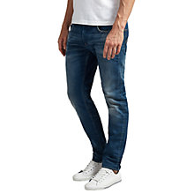 Buy G-Star Raw 3301 Firro Denim Slim Jeans, Medium Aged Online at johnlewis.com