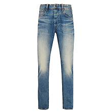 Buy G-Star Raw 3301 Regular Tapered Jeans, Dark Aged Online at johnlewis.com