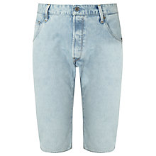 Buy G-Star Raw Arc 3D Wisk Denim Shorts, Light Aged Blue Online at johnlewis.com