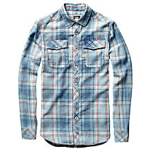 Buy G-Star Raw Landoh Check Shirt, Blue Online at johnlewis.com