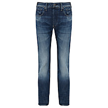 Buy G-Star Raw Attacc Straight Denim Jeans, Dark Aged Blue Online at johnlewis.com