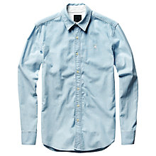 Buy G-Star Raw Shattor Denim Shirt, Light Aged Online at johnlewis.com