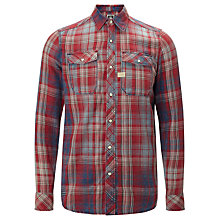 Buy G-Star Raw Landoh Check Long Sleeve Shirt, Rinsed Online at johnlewis.com