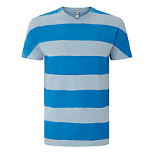 Buy G-Star Raw Sprayed Stripe Special R T-Shirt, Blue Online at johnlewis.com